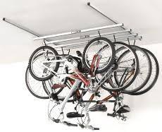 Bicycle Ceiling Hoist by Garage Storage At Rei