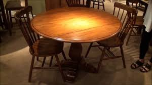 drop leaf dining room tables creations ii round drop leaf pedestal dining table home gallery