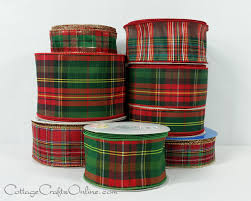 plaid ribbon archives