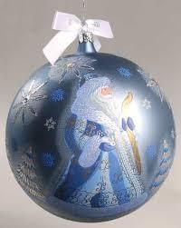 waterford heirloom ornaments winter santa