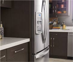 standard depth on kitchen cabinets what is a counter depth refrigerator whirlpool