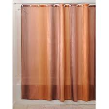 Brown And Gold Shower Curtains Interdesign Ombre Fabric Shower Curtain 72 X 72 Brown Gold Ebay