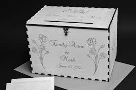 Money Wedding Gift Wedding Card Box Personalized Wine Gift Boxes