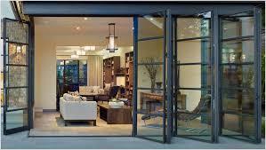 Patio Doors Bifold Alluring Glass Bifold Doors With Bi Fold Glass Patio Doors
