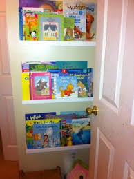 Kid Bookshelves by Organizer Turned Kids Bookshelf Hanging Bookshelves Repurpose