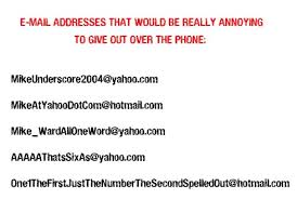 Funny Email Addresses On Resumes Funny Email Addresses Funny Email Address Unfortunate Email