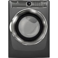 whirlpool 7 4 cu ft gas dryer with steam in chrome shadow