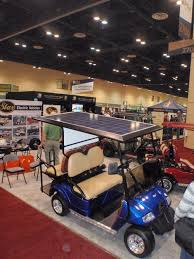 Club Car Ds Roof by Photo Gallery U0026 Fleets U2014 Solar Ev Systems Solar Golf Carts Roof