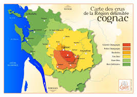 Dordogne France Map by Six Parts Of The Cognac Region Grande Champagne To Bois