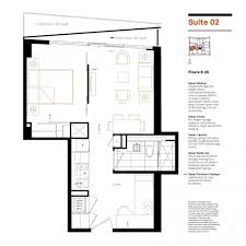 smart house condos floorplans suite 02 one bedroom plus den
