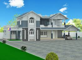 the home designers 3667 sqft 4 bedroom luxury kerala bungalow design by triple home