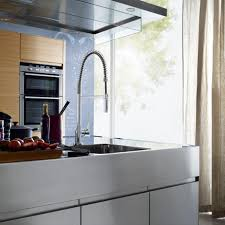 how to open kitchen faucet the open plan kitchen connects living and cooking hansgrohe us