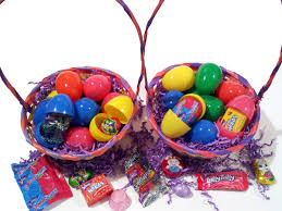 filled easter baskets wholesale 750 lot pre filled easter eggs for egg hunt mixed candy