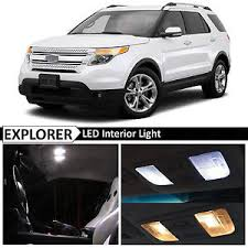ford explorer package 13x white interior led lights package kit for 2011 2017 ford
