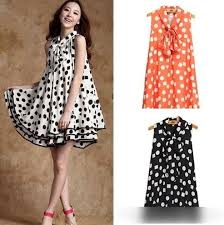 cheap maternity clothes online summer style dot printed maternity dresses casual