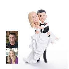 custom wedding cake toppers custom bobbleheads cake topper for weddings