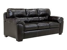 Austin Black LeatherLook Sofa At Rothman Furniture - Sofa austin 2