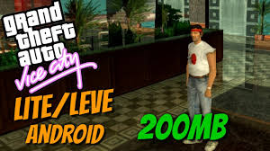 gta vice city apk data gta vice city lite leve apk data pesando 200mb para gpu