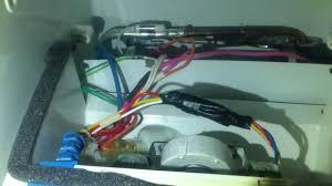 ge refrigerator fan motor replacing the ge freezer evaporator fan motor youtube