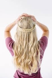 half crown braid u2013 walk in love