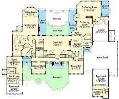 mediterranean mansion floor plans mediterranean mansion 63268hd architectural designs house plans