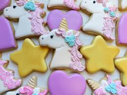 Icing To Decorate Cookies Flour Box Bakery U2014 How To Decorate A Unicorn Cookie