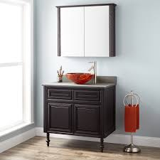 bathroom wall cabinets dark cherry 458469 36 vanity dark cherry