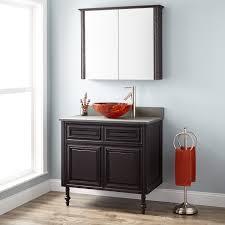 Cherry Bathroom Vanity by Bathroom Wall Cabinets Dark Cherry Www Islandbjj Us