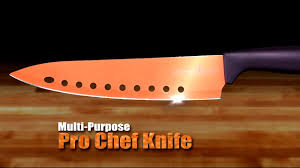 obsidian kitchen knives copper chef knives youtube
