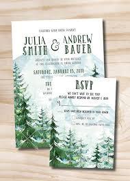 winter wedding invitations picture of everygreen winter wedding invitations will remind all