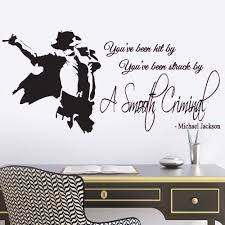 wall stickers quotes for hallways michael jackson smooth criminal lyrics music quote lounge living room hallway bedroom wall sticker wall decal wall art vinyl wall mural regular size