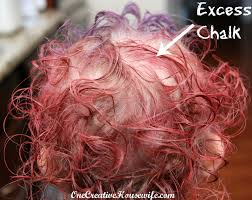 How To Wash Hair Color Out - one creative housewife diy hair color
