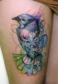 the best shoulder tattoos designs watercolour bird by koraykaragozler t a t t o o s pinterest
