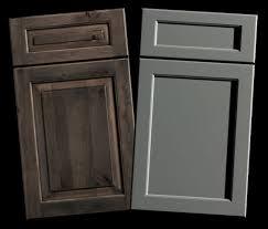 Cabinet Panel Doors Mixing Raised Flat Panel Kitchen Cabinet Door Styles