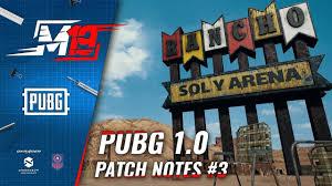pubg 1 0 patch notes обзор обновления pubg 1 0 patch notes 3 youtube