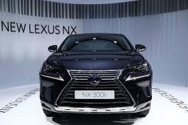 lexus nx 300h uk review lexus nx facelift at 2017 frankfurt motor show pictures specs