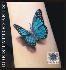 3d butterfly tattoo by doristattoo on deviantart