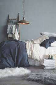 bedroom creative dark blue gray bedroom decorating idea