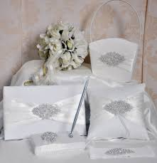 2014 bling wedding decoration sets wedding guest book and pen set