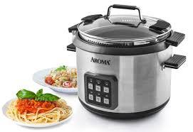 aroma 6qt digital pasta u0026 rice cooker walmart com