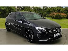 mercedes a class black used mercedes a class amg line black cars for sale motors co uk