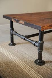 Pipe Desk Extra Thick Pipe Reclaimed Wood Desk Industrial Desk by Turn Some Plumbing Supplies And A Couple Of Old Planks Into A