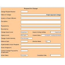 Project Project Management Change Request by Free Change Control Template Download U0026 Customize For Your