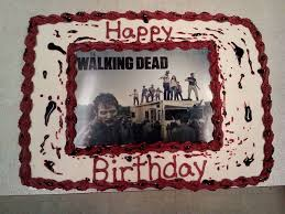 walking dead cake ideas 136 best my cakes images on birthday cakes birthday