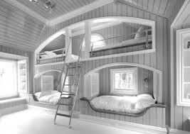 Ikea White Bunk Bed Bedroom 26 Example Of Bunk Beds For Small Teenager U0027s Bedroom
