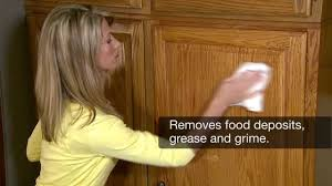 What To Use To Clean Greasy Kitchen Cabinets How To Clean Wood Cabinets Magic