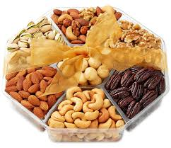 gift basket deluxe roasted nuts 7 section hula