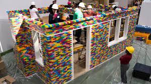 brick for brick full time lapse at interior design show 2016 youtube