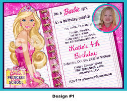 barbie invitations ideas barbie princess zebra ticket 25 legjobb