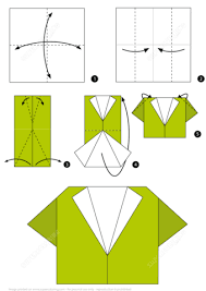 Step By Step Origami For - how to make an origami shirt how to make an origami shirt step